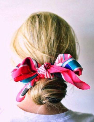 f57f01a4282c7eb61e7d4ded13ba4a41 362x468 - Tendências Pinterest | Dicas para usar lenço no cabelo