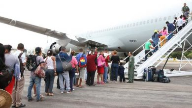 fab 390x220 - Avião da FAB leva 233 venezuelanos para Manaus e São Paulo