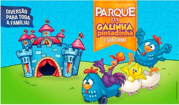 galinha pintadinha parque - Parque da Galinha Pintadinha chega em Porto Alegre com atividades inéditas