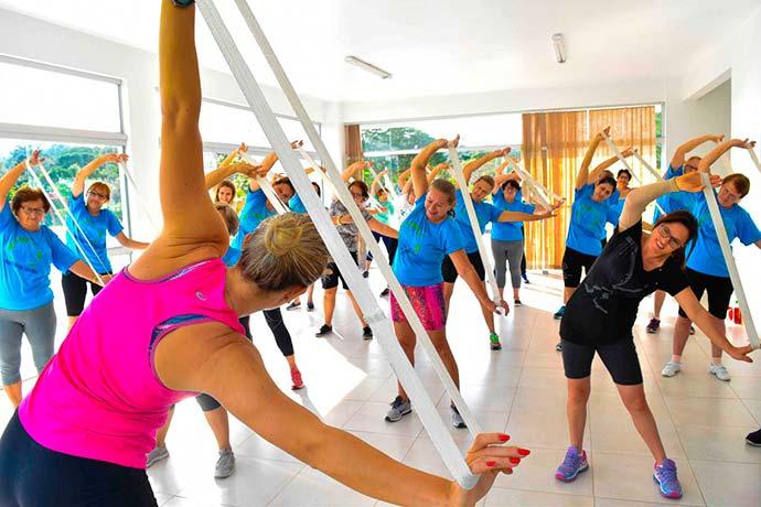 ginastica dois irmaos - Dois Irmãos: Projeto Pratique Saúde oferece aulas gratuitas de ginástica para mais de 250 pessoas