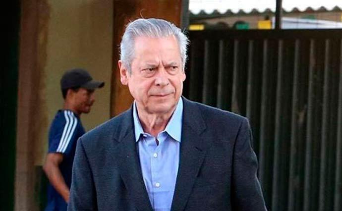 josé dirceu - TRF4 mantém condenação de José Dirceu na Operação Lava Jato