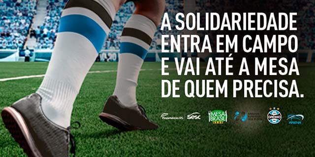 lg noticias gra mio adere a campanha mesa brasil sesc 21128 - Grêmio adere à campanha Mesa Brasil Sesc