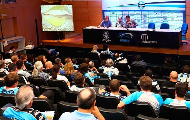 lg noticias gra mio e unisinos promove a 5a edia a o do curso gesta o de clubes de futebol 21130 - Grêmio e Unisinos promovem a 5ª edição do Curso Gestão de Clubes de Futebol