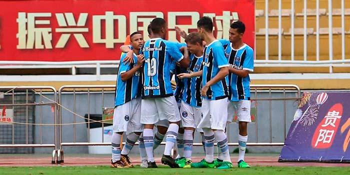 lg noticias gra mio termina evergrande u17 championship 2018 na terceira colocaa a o 12 - Grêmio termina Evergrande U17 Championship 2018 na terceira colocação