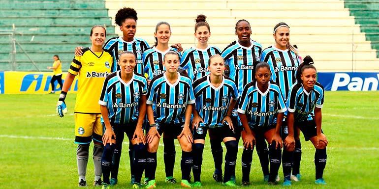 lg noticias time feminino do gra mio empata em 3 a 3 com o duque de caxias no vieira o 3 - Time feminino do Grêmio empata em 3 a 3 com o Duque de Caxias no Vieirão