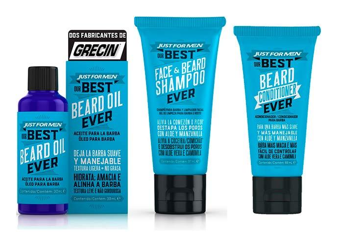 linha Best Beard - Grecin lança linha Best Beard para a barba