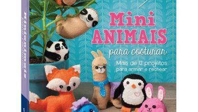 livro Mini Animais para Costurar 390x220 - Mini animais para costurar é lançamento da Catapulta Editores