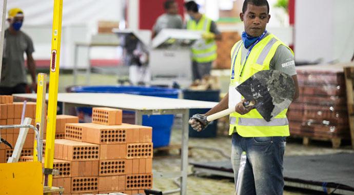 material construção - Vendas de materiais de construção aumentam 4% em abril