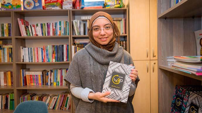 nada ONU - Com apoio da ONU, refugiada síria abre livraria árabe em Istambul, na Turquia