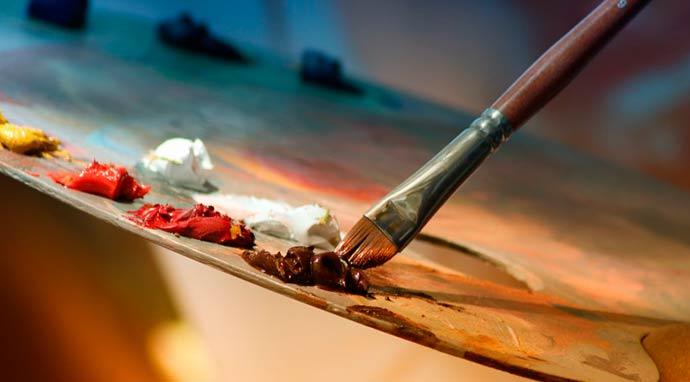 paleta tinta - Sapucaienses podem se inscrever em cursos gratuitos de cultura e lazer