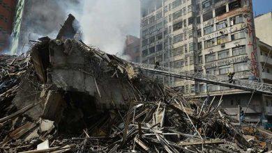 predio sp 390x220 - Bombeiros encontram corpo no edifício que desabou em SP