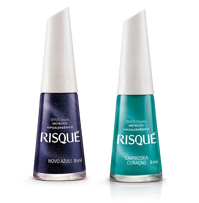 risque5 - Risqué e a tendência das unhas coloridas