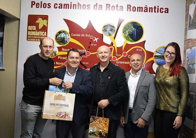 rota rom - Rota Romântica focada na divulgação nacional e internacional do roteiro