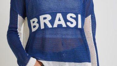 339094 797292 ohboy  blusa telinha brasil 188 00 web  390x220 - Marcas cariocas apostam em coleções para torcer pelo Brasil