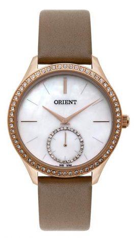 339702 800135 orient   ref.fgsc0012 b1fx   r 438 00 web  263x468 - Orient apresenta coleção de relógios femininos com design diferenciado