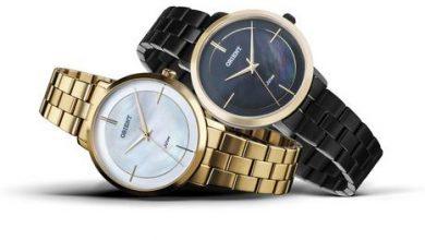 339702 800136 orient   refs pack fgss0101 ftss0058 web  390x220 - Orient apresenta coleção de relógios femininos com design diferenciado