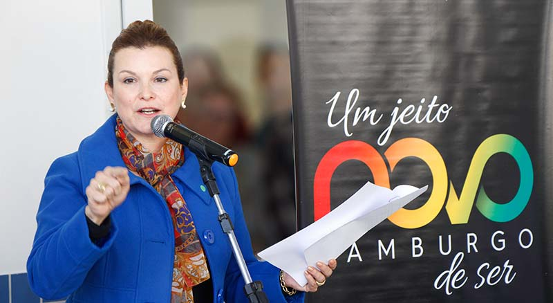 A prefeita Fátima Daudt inaugurou na manhã deste sábado dia 23 a Unidade de Pronto Atendimento em Novo Hamburgo - Prefeita Fátima Daudt inaugura UPA 24 horas em Novo Hamburgo