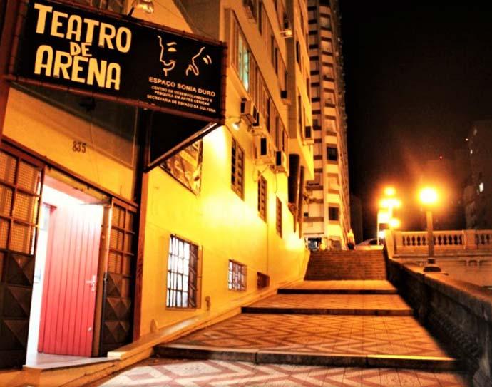 ARENA 1 - Evento reúne músicos para comemorar os 50 anos do Teatro de Arena