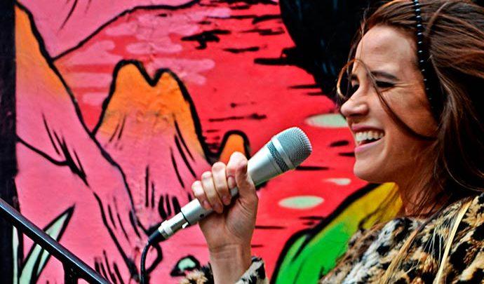 Aline Stoffel divulgação Moinhos 690x405 - Moinhos Shopping traz novas apresentações do evento Música na Praça