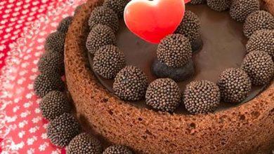 Bolo de chocolate com Creme de Avelã 390x220 - Receita de sobremesa para o Dia dos Namorados