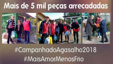 CAMPANHA DO AGASALHO 5 MIL 390x220 - Ação solidária pelo Vila Rosa reforça a Campanha do Agasalho