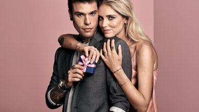 Chiara Ferragni e Fedez 390x220 - Chiara Ferragni e Fedez na campanha de Dia dos Namorados da Swarovski