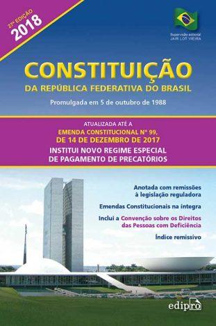 Constituição da República Federativa do Brasil 311x468 - Dicas de leitura para estudantes de Direito