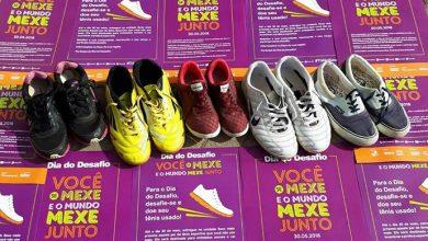 Doacao Tenis DESAFIO SOCIAL DDD 2018 foto Sesc Tramandai 390x220 - Campanha de doação de calçados segue até 27/06 em todo RS