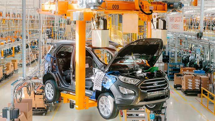 Ecosport Rússia - Ford inicia a produção do novo EcoSport na Rússia