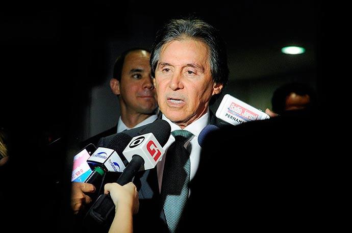 Eunício oliveira - Copa e eleições não prejudicarão votações, diz Eunício