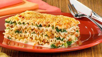Lasanha Vegetariana aos 3 Queijos 390x220 - Lasanha vegetariana aos três queijos