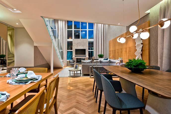 Modern House Karsten CASACOR PR 2018 divulgação 1 - Conheça dois projetos de lofts para se inspirar