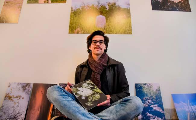 Obras do artista visual Tom Ferreiro estarão no Albano Hartz a partir de quarta feira - O corpo como expressão artística no Albano Hartz