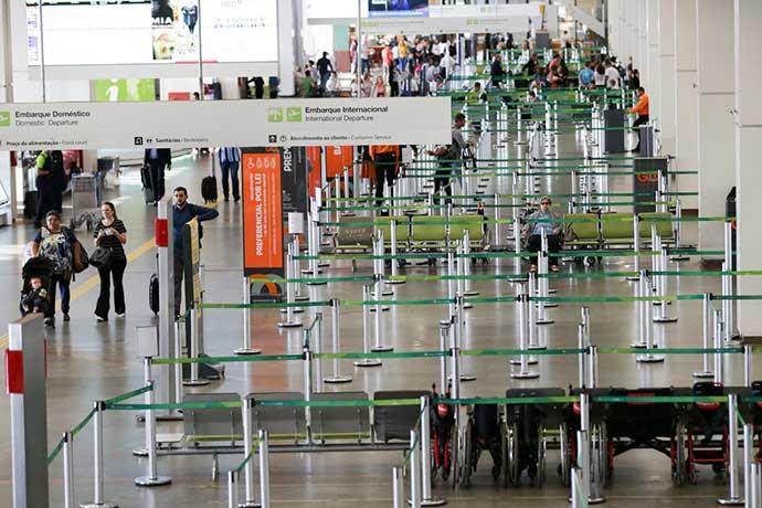 aeroporto - Eleições: aeroportos terão reforços e postos para justificar voto
