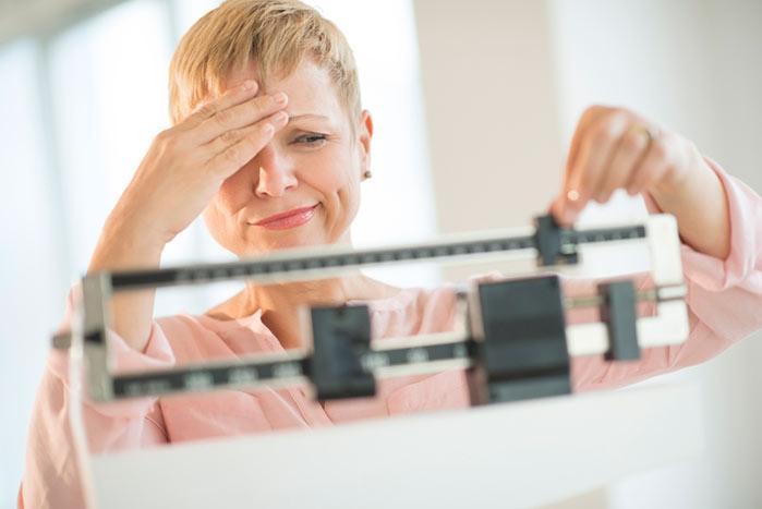 aum peso - Menopausa e aumento do peso