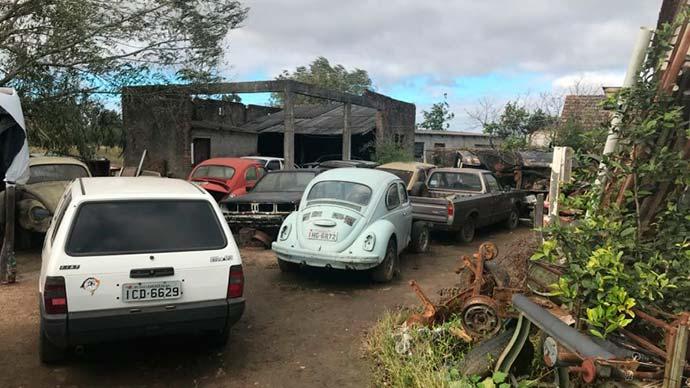 desmanches - Operação Desmanche interdita estabelecimentos ilegais em Pelotas