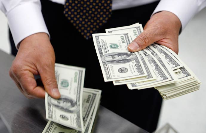 dolar 3 - Em queda, dólar é cotado a R$ 3,7975