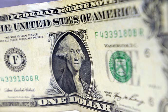 dolar - Dólar encerra semana cotado a R$ 3,71