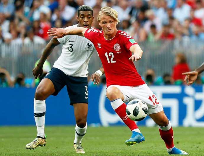 frança dinamarca - Com futebol morno, França e Dinamarca ficam no primeiro 0 x 0 da Copa