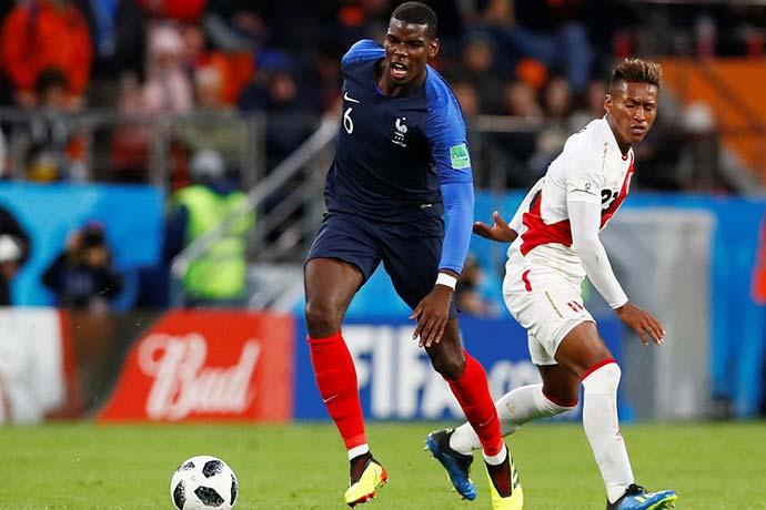 frança e peru - França vence Peru e está classificada antecipadamente