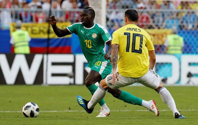 james - Colômbia vence Senegal por 1 x 0 e se classifica para as oitavas