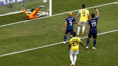 japao colombia 390x220 - Japão surpreende e vence a Colômbia por 2 a 1