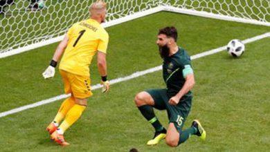 jogo 390x220 - Austrália e Dinamarca empatam em 1 a 1 na segunda rodada da Copa