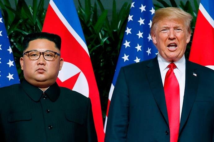 kim jong un e donald trump - Acordo entre Trump e Kim é recebido com ceticismo por analistas