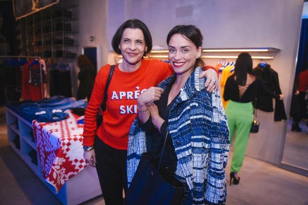 marina lima e suzana pires 1 web  - Calvin Klein inaugura primeira flagship store em São Paulo