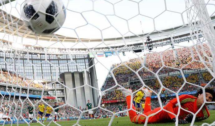 mexico copa 690x405 - Alemanha perde e classifica México para a próxima fase da Copa