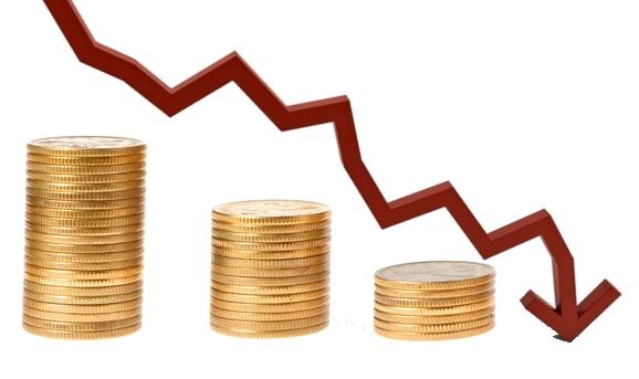 queda economia - Contas públicas ficam negativas em R$ 24,6 bilhões em setembro