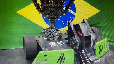 robô brasileiro 390x220 - Brasileiros vencem na China competição internacional de luta de robôs