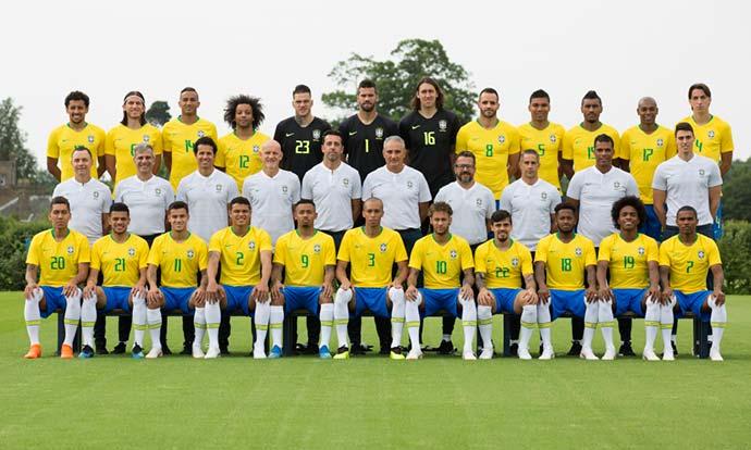 seleção brasileira 1 - No último dia em Londres, seleção treina todos setores do time