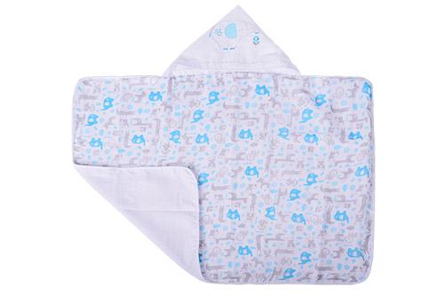 toalha capuz bordado aberta masc - Fisher-Price e Incomfral apresentam coleção de cama e banho